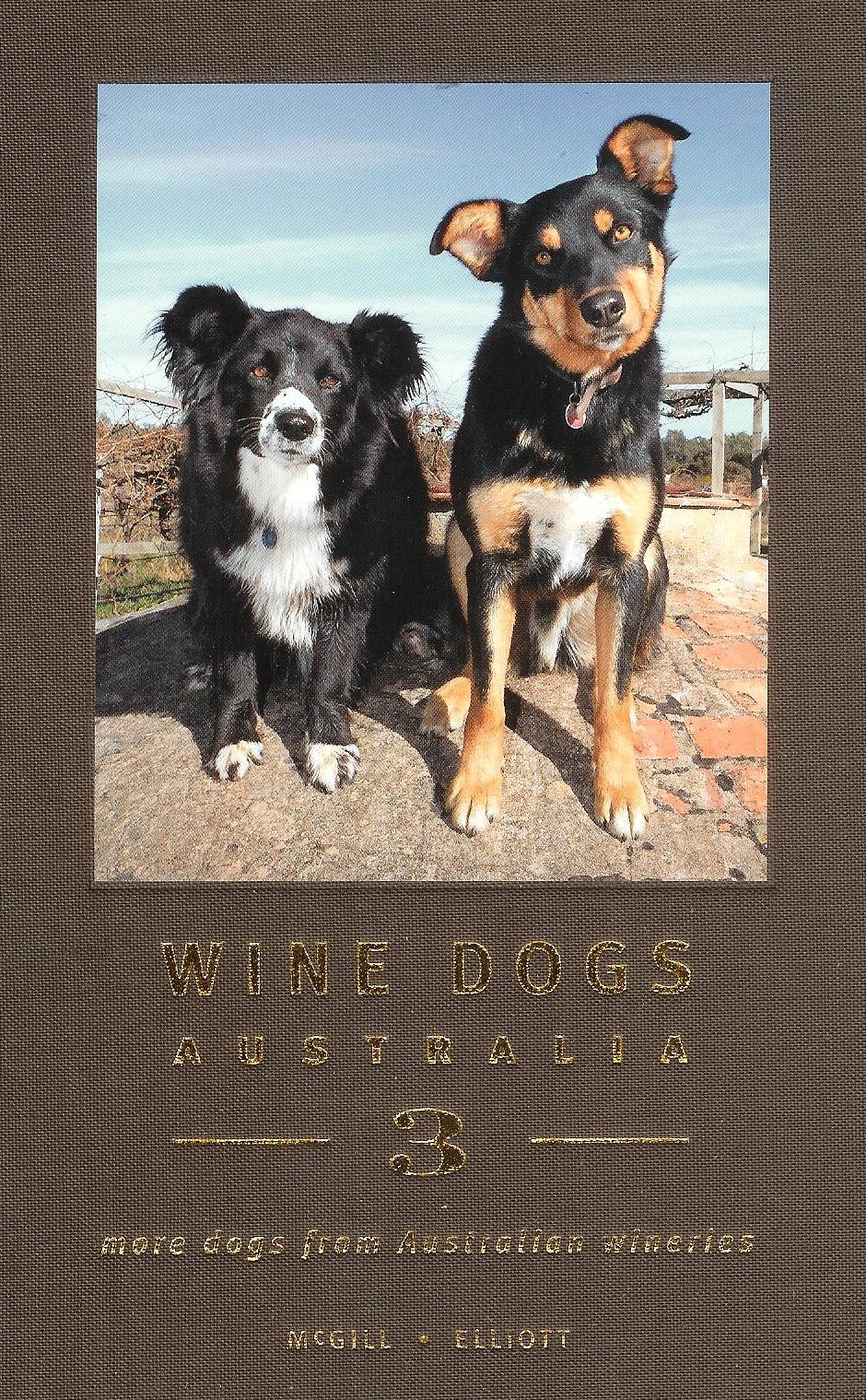 Book - Wine Dogs 3 front cover - 2012